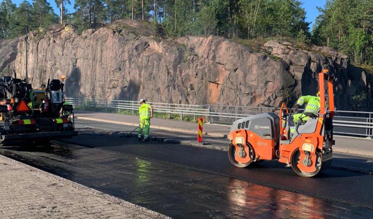GRK Road asfaltointi